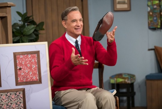Picture: Sony Tom Hanks as Mister Rogers