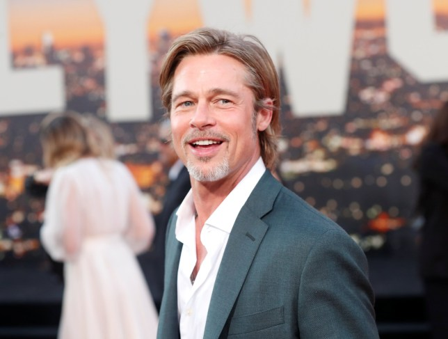 Brad Pitt at Once Upon a Time In Hollywood premiere