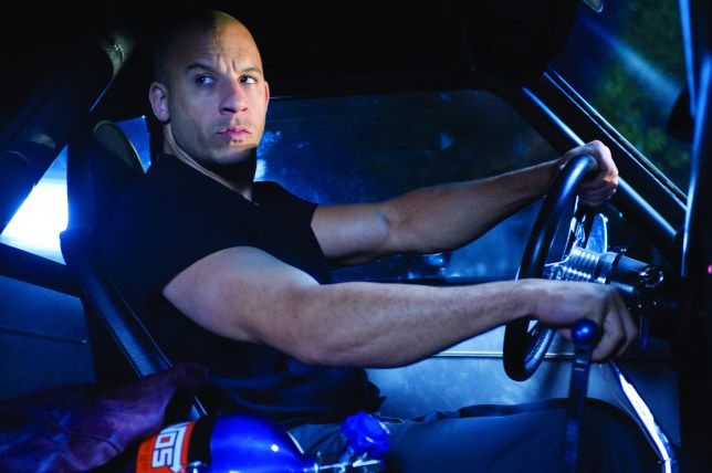 Editorial use only. No book cover usage. Mandatory Credit: Photo by Snap Stills/REX (2047322z) Fast & Furious - Vin Diesel 'Fast & Furious' Film - 2009