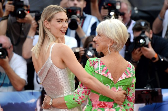 Image result for Helen Mirren And Vanessa Kirby Share Stories