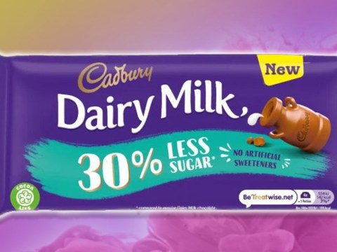 A new lower sugar Dairy Milk bar is in UK shops now – with 30% less sugar
