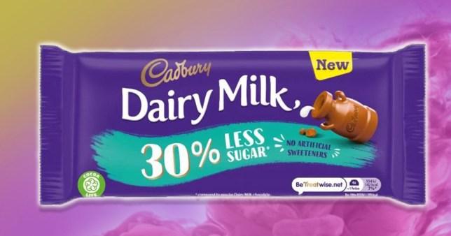 Dairy Milk launch 'diet chocolate bar'