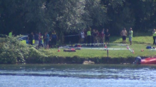 man in his 20s dies at Cotswold Water Park 'trying to save dog'