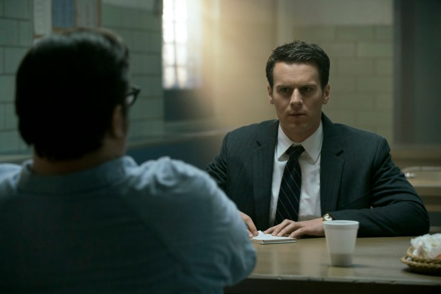 Jonathan Groff as Holden Ford in Mindhunter season 1
