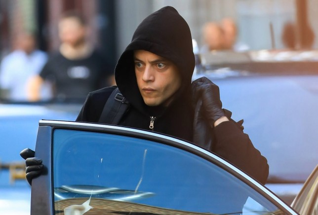NEW YORK, NEW YORK - JULY 24: Rami Malek is seen filming 'Mr. Robot' on July 24, 2019 in New York City. (Photo by Alessio Botticelli/GC Images)