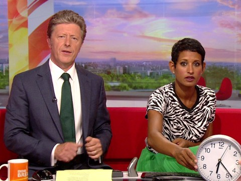 BBC Breakfast's Naga Munchetty and thousands of viewers saved by Ben Thompson after digital clock goes AWOL