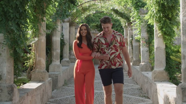 Editorial Use Only. No Merchandising. No Commercial Use. Mandatory Credit: Photo by ITV/REX (10346939j) Curtis Pritchard and Maura Higgins go on a date 'Love Island' TV Show, Series 5, Episode 46, Majorca, Spain - 25 Jul 2019 Amber and Greg make waves as they set sail on their final date. Curtis and Maura face the music on their final date. India and Ovie turn up the heat on their final date.
