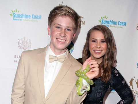Robert Irwin has us in tears as he shares excitement at walking Bindi down the aisle amid family 'feud'