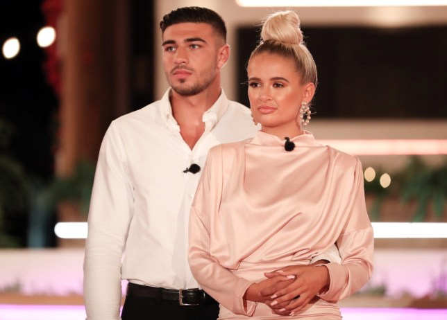 Love Island's Molly-Mae Hague and Tommy Fury