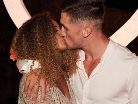 Love Island winners Amber Gill and Greg O'Shea are adorably shocked in loved up thank you message