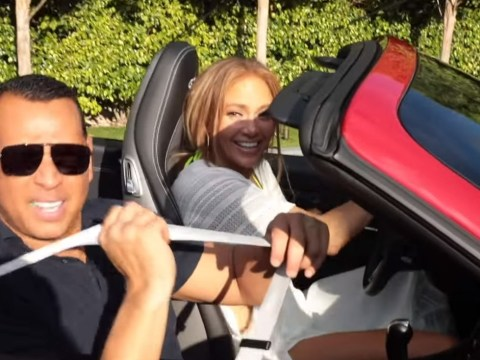 Jennifer Lopez takes her first drive in 25 years in surprise Porsche gifted by Alex Rodriguez