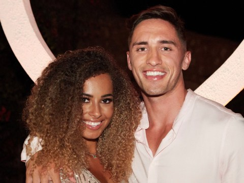 Love Island's Greg O'Shea returns to hero's welcome as he lands in Ireland without Amber Gill