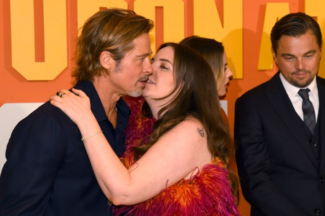 Lena Dunham sets the record straight about that 'awkward' Brad Pitt kiss