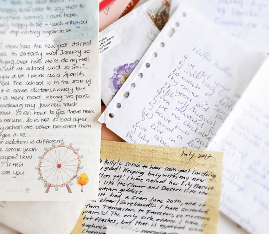 At 41, my childhood pen pals are still some of my best
