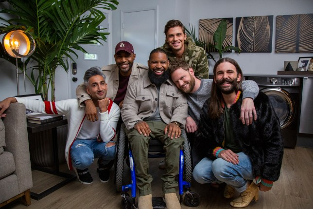 a promo for the Disabled But Not Really episode of Queer Eye season 4
