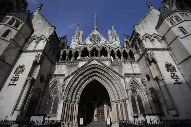 The Royal Courts of Justice building in London, which houses the High Court of England and Wales