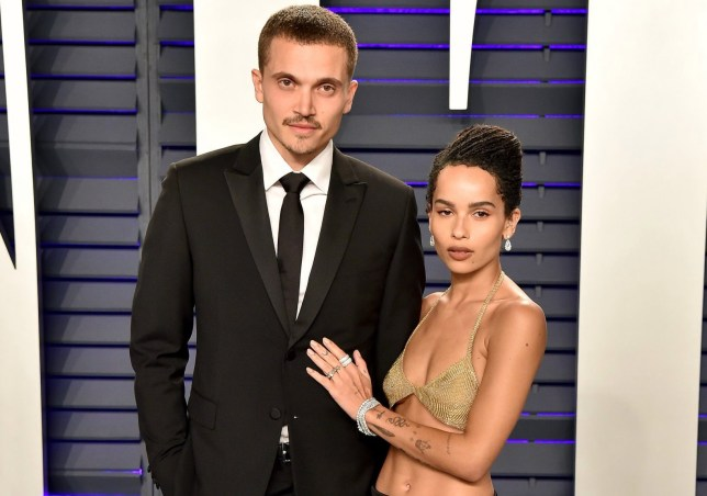 Zoe Kravitz Shares First Photos From Karl Glusman Wedding