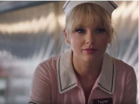 Taylor Swift is all about the dollar as she pretends to be a bartender and waitress in cringe ad