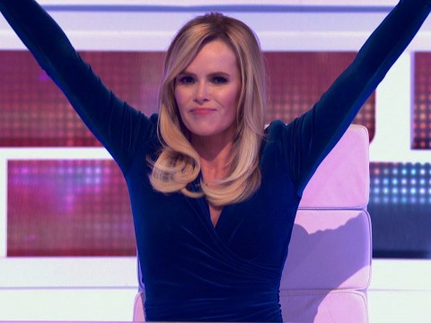 Amanda Holden reigns supreme as she takes over from James Corden on A League Of Their Own: 'I was made for this'