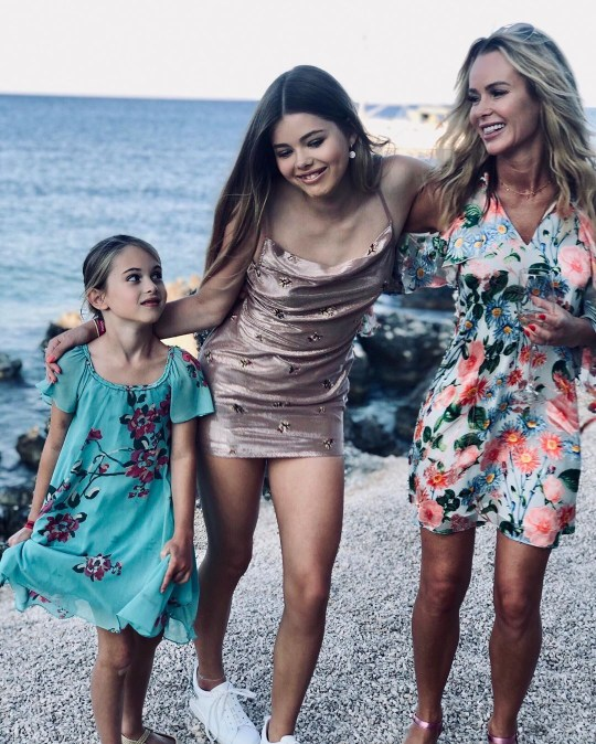 Amanda Holden shares rare picture of daughters on holiday ...