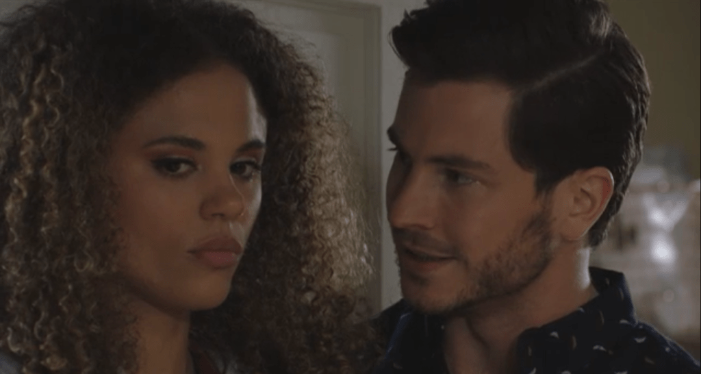chantelle-and-gray-eastenders-2-12bf EastEnders spoilers: Domestic abuse storyline confirmed as Gray Atkins attacks wife Chantelle