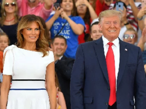 Donald Trump hosts controversial military-themed July 4 'Salute to America'