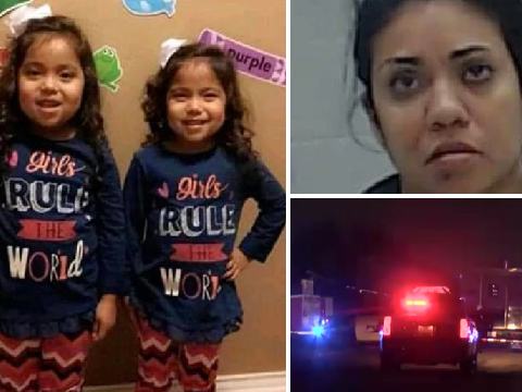'Drunk driver' struck and killed twin sisters, 6, in front of their horrified family