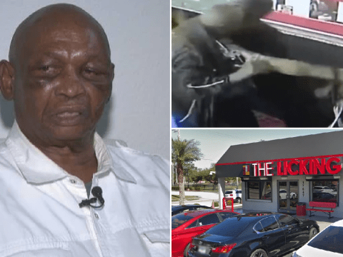 Man, 77, 'brawls with young women at restaurant called The Licking then tries to blame them'