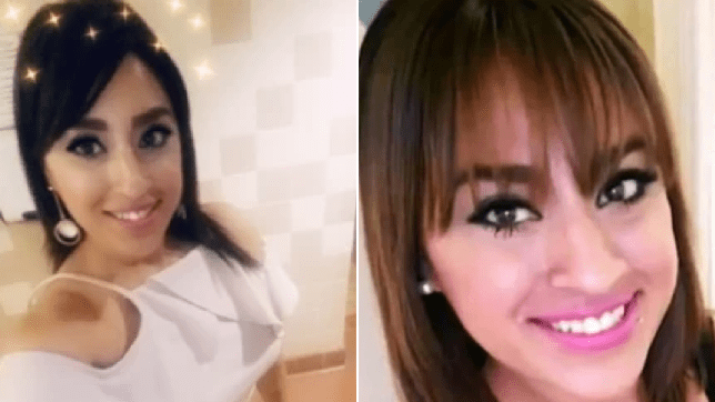 Side by side photos of missing mother Erika Andrea Gaytan