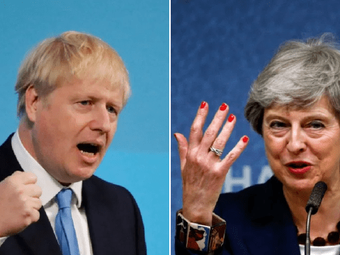 Theresa May says she will support Boris Johnson 'from the back benches'
