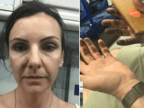 Hero couple saved whimpering tube passenger after her head got stuck in train doors