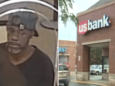 Dopey bank robber accidentally handed teller note with his name on it