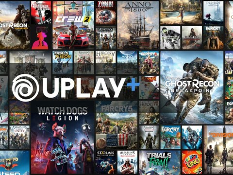 Ubisoft announces over 100 games for Uplay+ subscription service