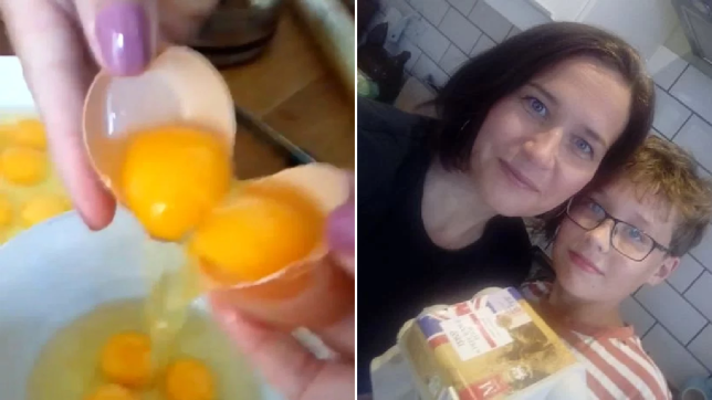Double yolker eggs