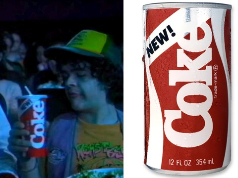 What was New Coke, as featured in Stranger Things season 3, and what happened to it?