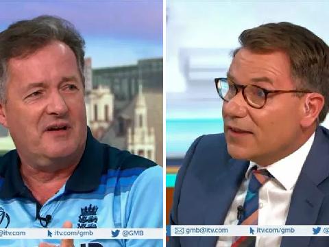 Piers Morgan 'furious' as Richard Arnold reveals texts to his wife Celia Walden
