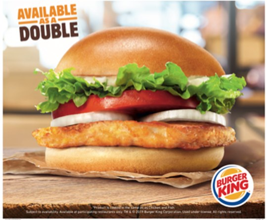 Burger King's halloumi burger cooked in same fryer as