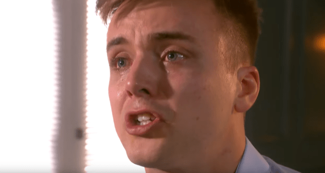 Parry Glasspool as Harry Thompson in Hollyoaks