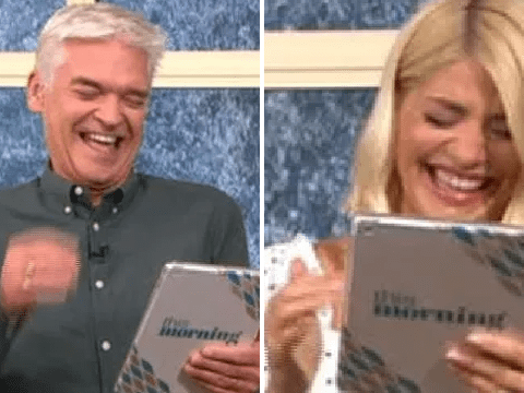 Holly Willoughby and Phillip Schofield completely lose it as This Morning viewers share dodgy children's drawings