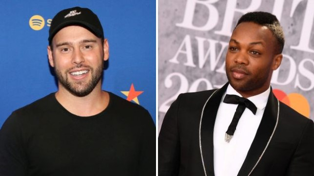 Scooter Braun and Todrick Hall