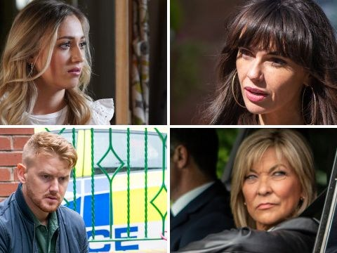 25 soap spoilers: Coronation Street and Emmerdale sex shocks, EastEnders exit, Hollyoaks kidnap plot