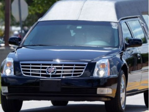 Hearse driver in car share lane told cop dead body in the back counted as a passenger