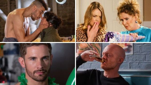 12 soap spoiler pictures: Max's shock EastEnders romance, Coronation Street sex scandal, Emmerdale love cheat, Hollyoaks discovery