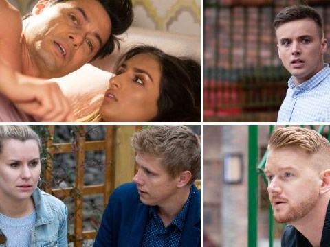 25 soap spoilers: EastEnders danger for Rainie, Emmerdale bloody discovery, Coronation Street murder confession, Hollyoaks birth
