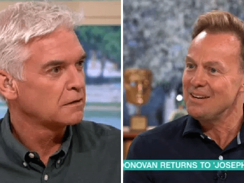 Jason Donovan and Phillip Schofield competition is still fierce over Joseph and the Amazing Technicolour Dreamcoat
