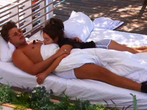Love Island's Curtis Pritchard and Maura Higgins totally did bits on the day beds and viewers were stunned