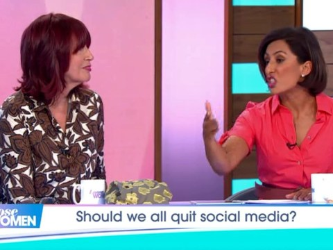 Janet Street-Porter clashes with Saira Khan over online trolls as she urges people to 'get off social media'