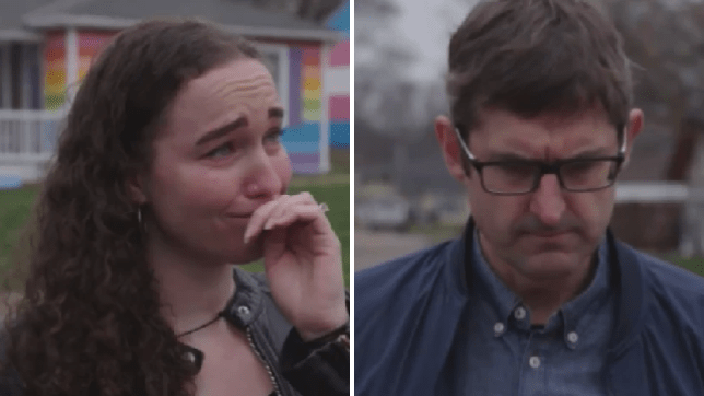 Louis Theroux breaks news to former Westboro Baptist Church about family members' engagement