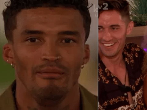 Love Island recap: Michael Griffiths leaves as Amber Gill and Greg O'Shea seal it with a kiss
