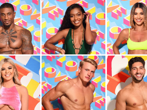 Who are the six new Love Island contestants in the main villa?